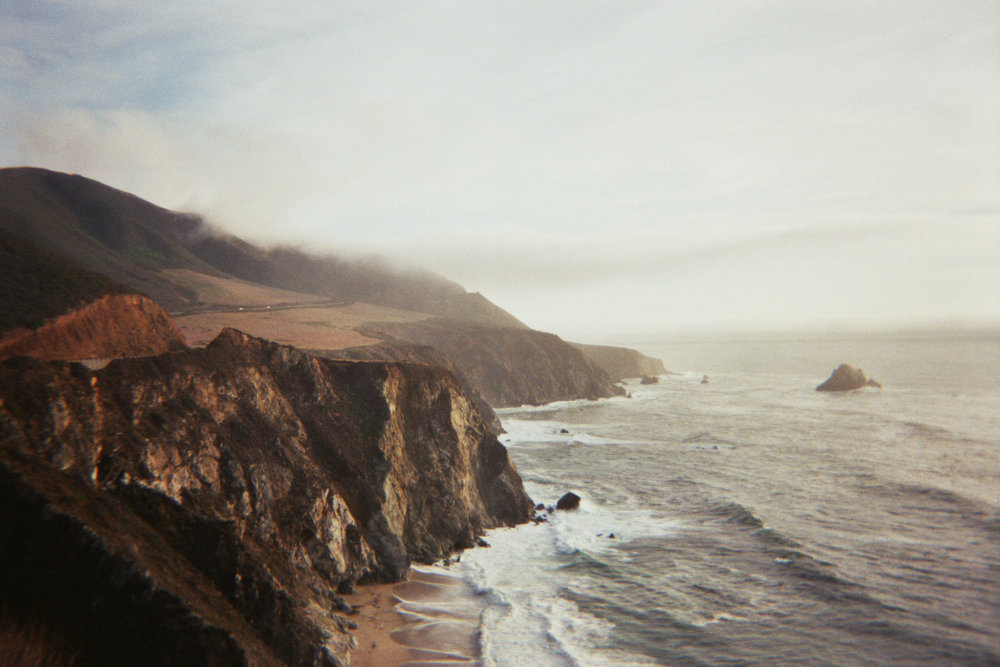 pacific coast - california