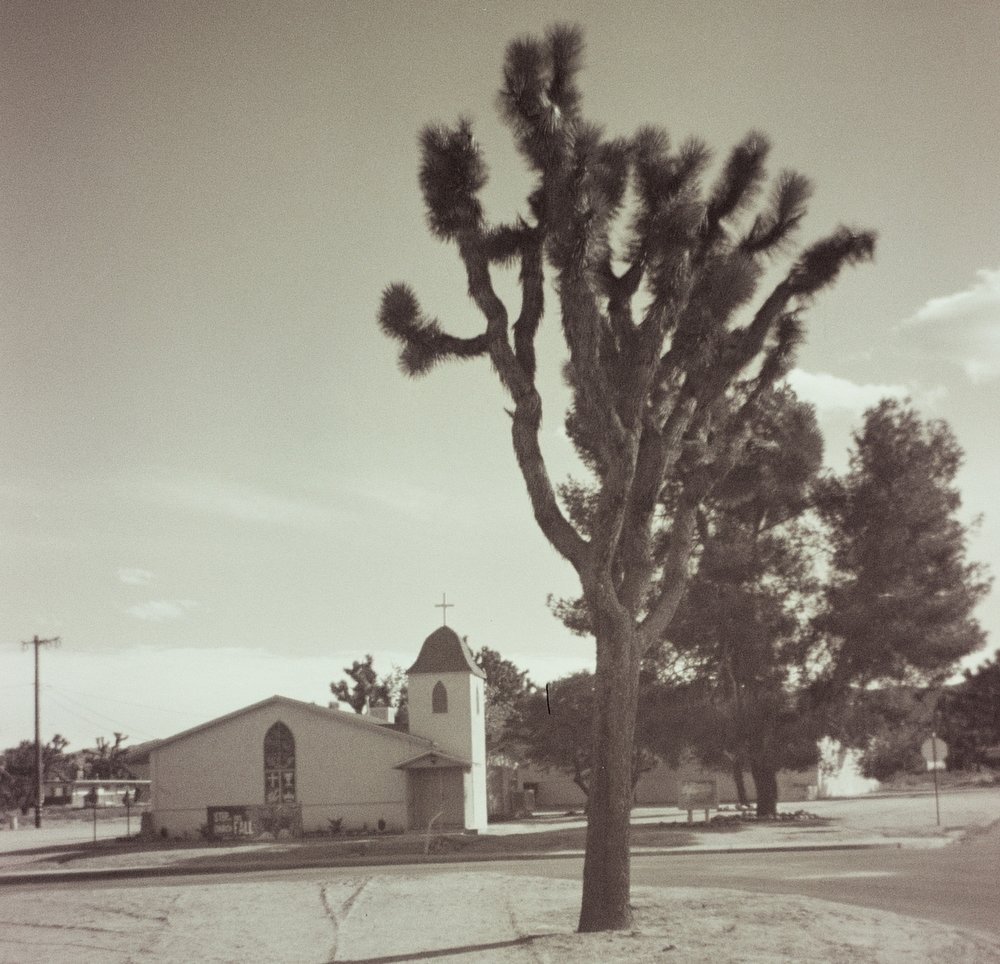 church - joshua tree