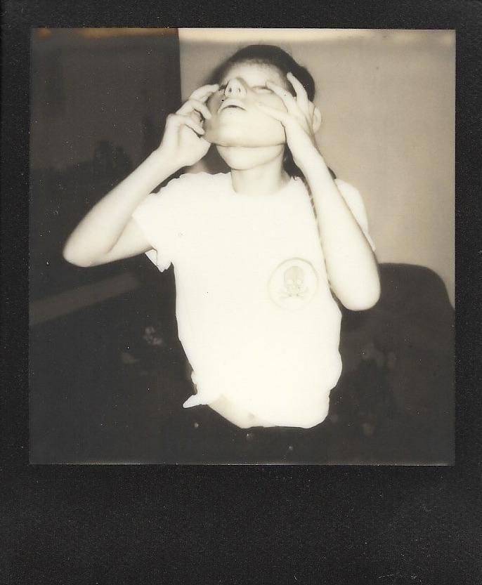 feli face - polaroid - berlin
