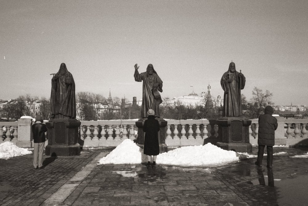 statues - moscow