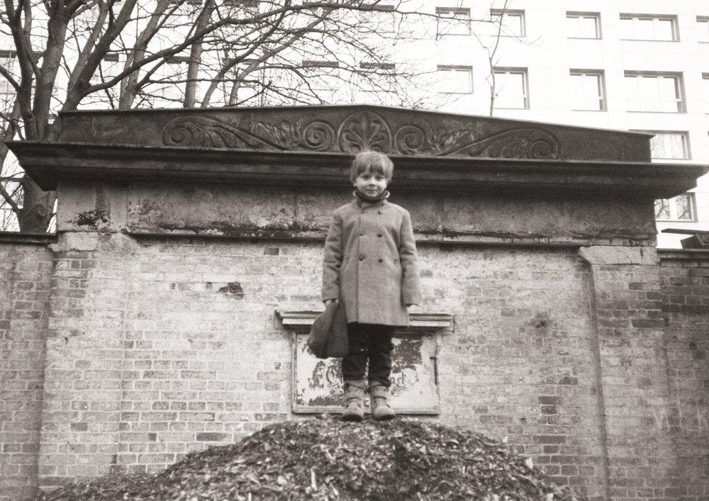 jakob outside - berlin