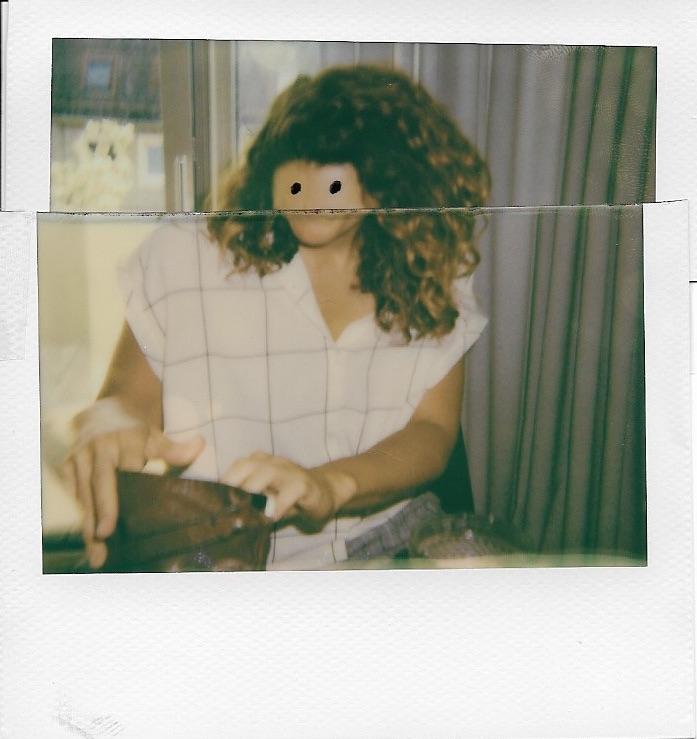 who is she - polaroid - berlin