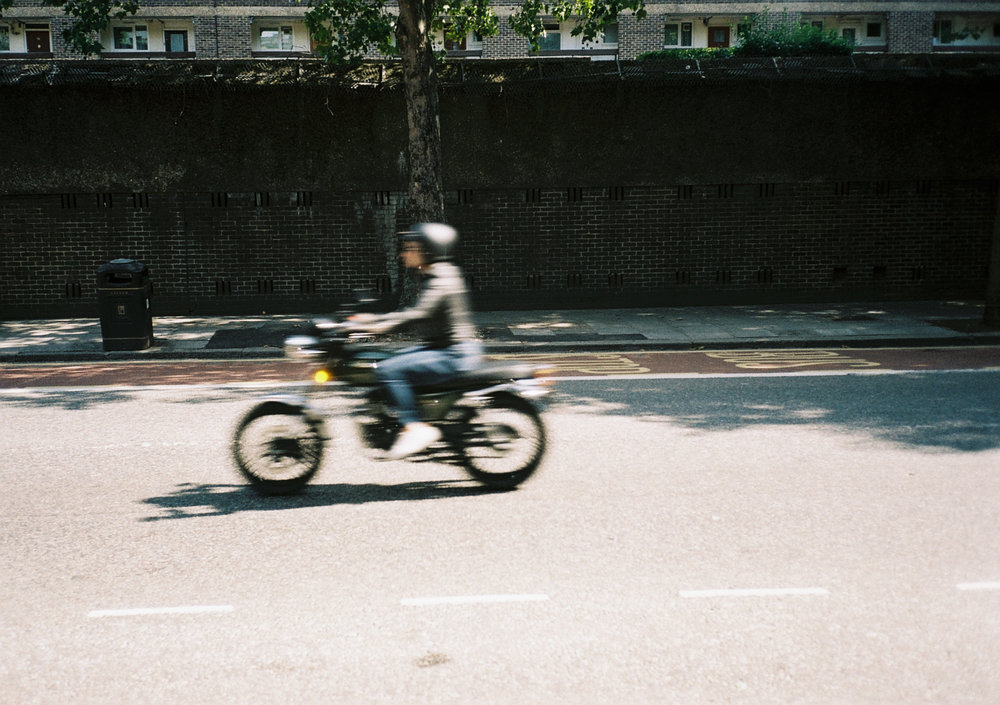 biker - london