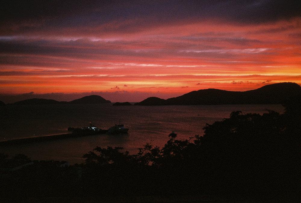 sunset - sri panwa