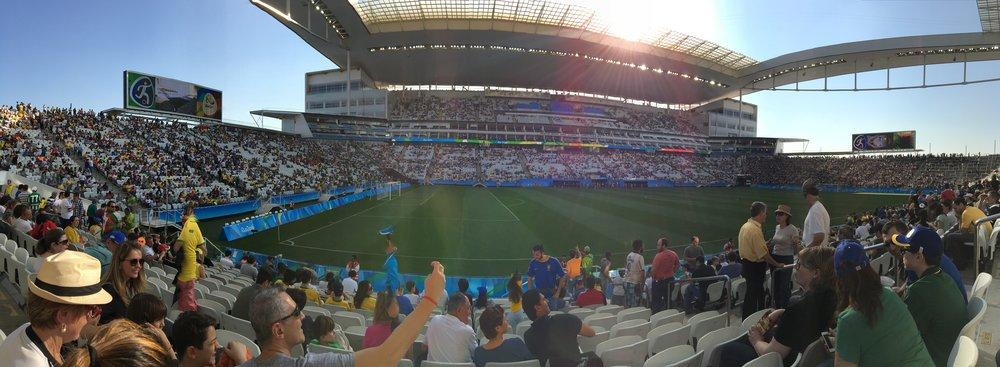2016 Olympic Men's Semi-Final:Arena Corinthians, Sao Paulo, BR