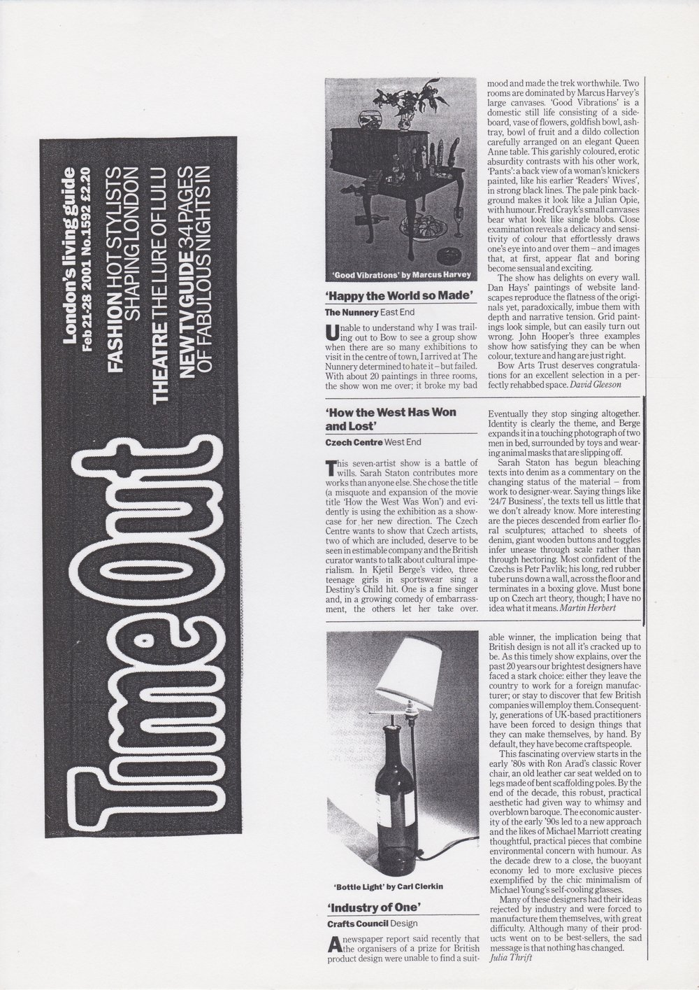 Time out Feb 2001.jpg