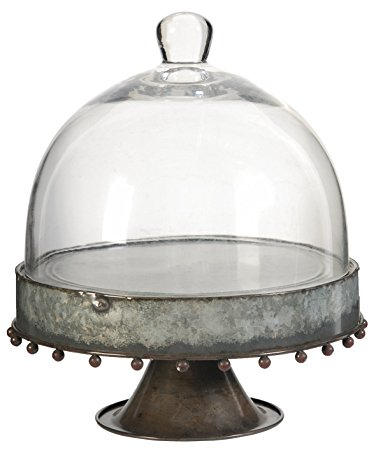 METAL CAKE STAND W/GLASS DOME  sc 1 st  Reclaimed Warehouse & METAL CAKE STAND W/GLASS DOME u2014 Reclaimed Warehouse