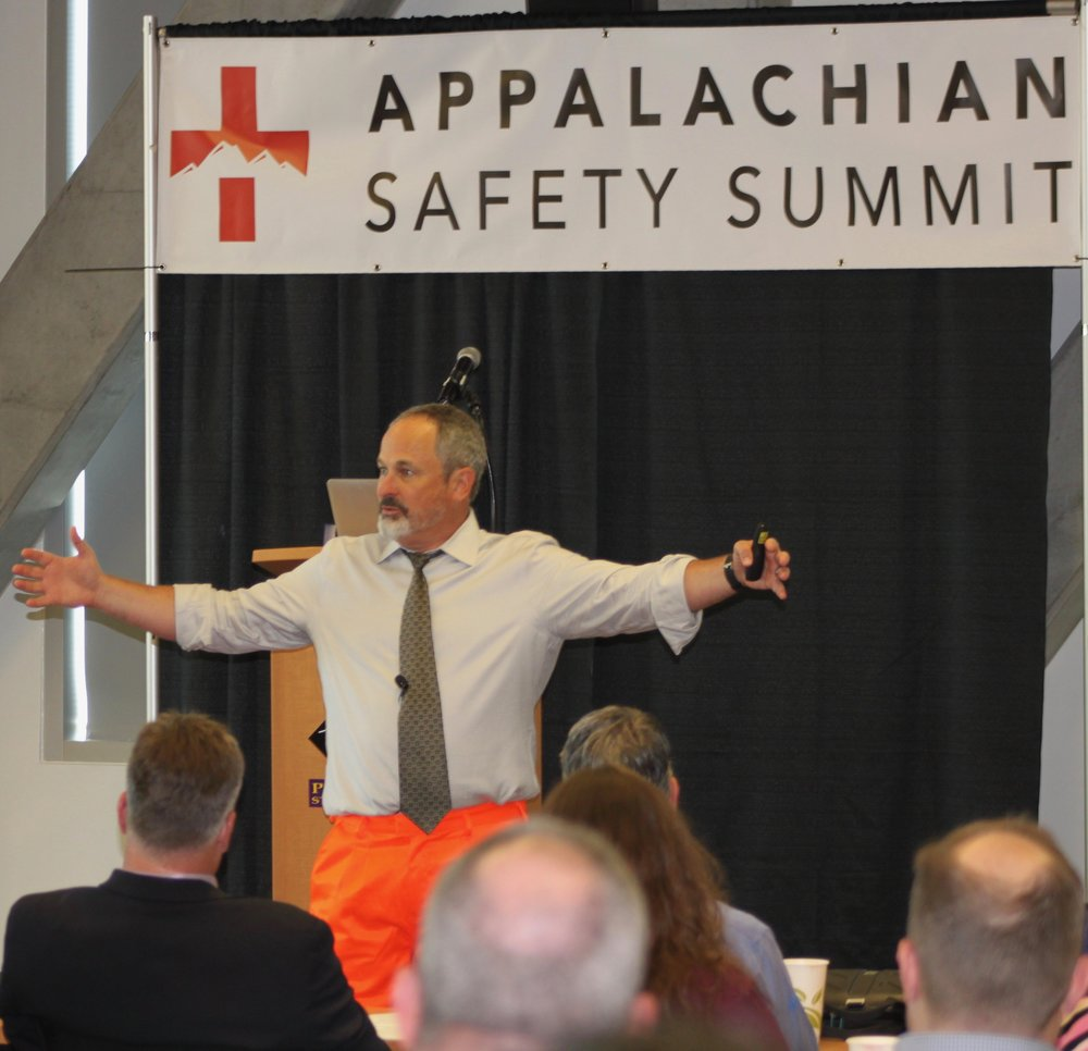 Are you F&%#'n Stupid? Dysfunctional Practices that Kill Safety Culture - Dr. Timothy Ludwig impressing upon the crown that labeling does not solve the safety errors. Additionally, these labeling practices build dysfunctional management practices that create fear with the associated safety programs.