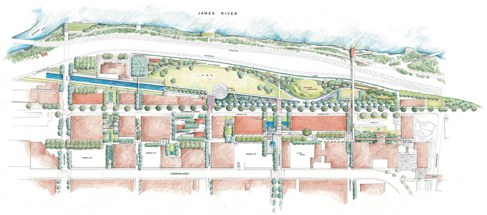 Lynchburg Riverfront Master Plan