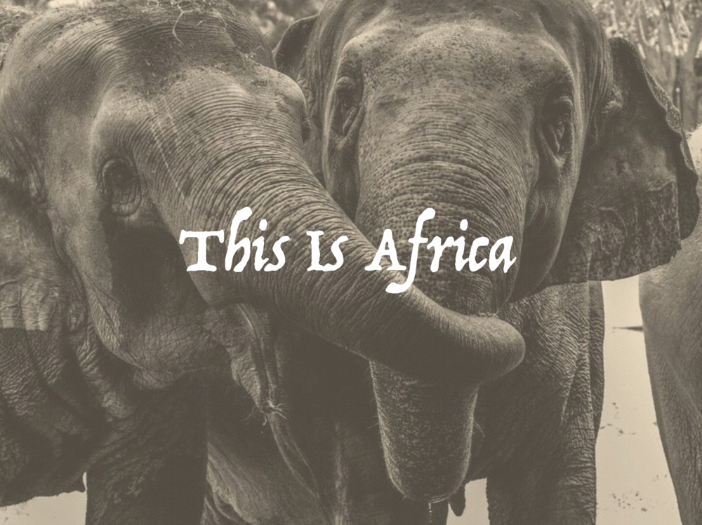 This is Africa