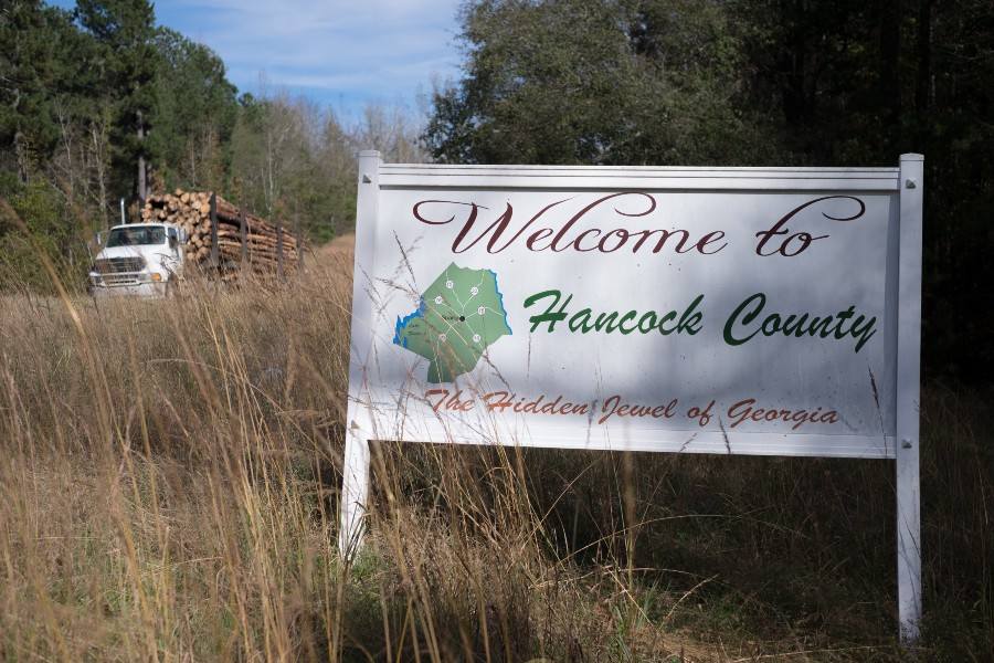 Hancock County, Sparta, Georgia (Images captured by John Lee Fisher)