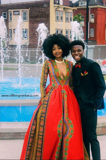 18-year-old Kyemah McEntyre sketched and designed for her senior prom. @KyeTheCreator