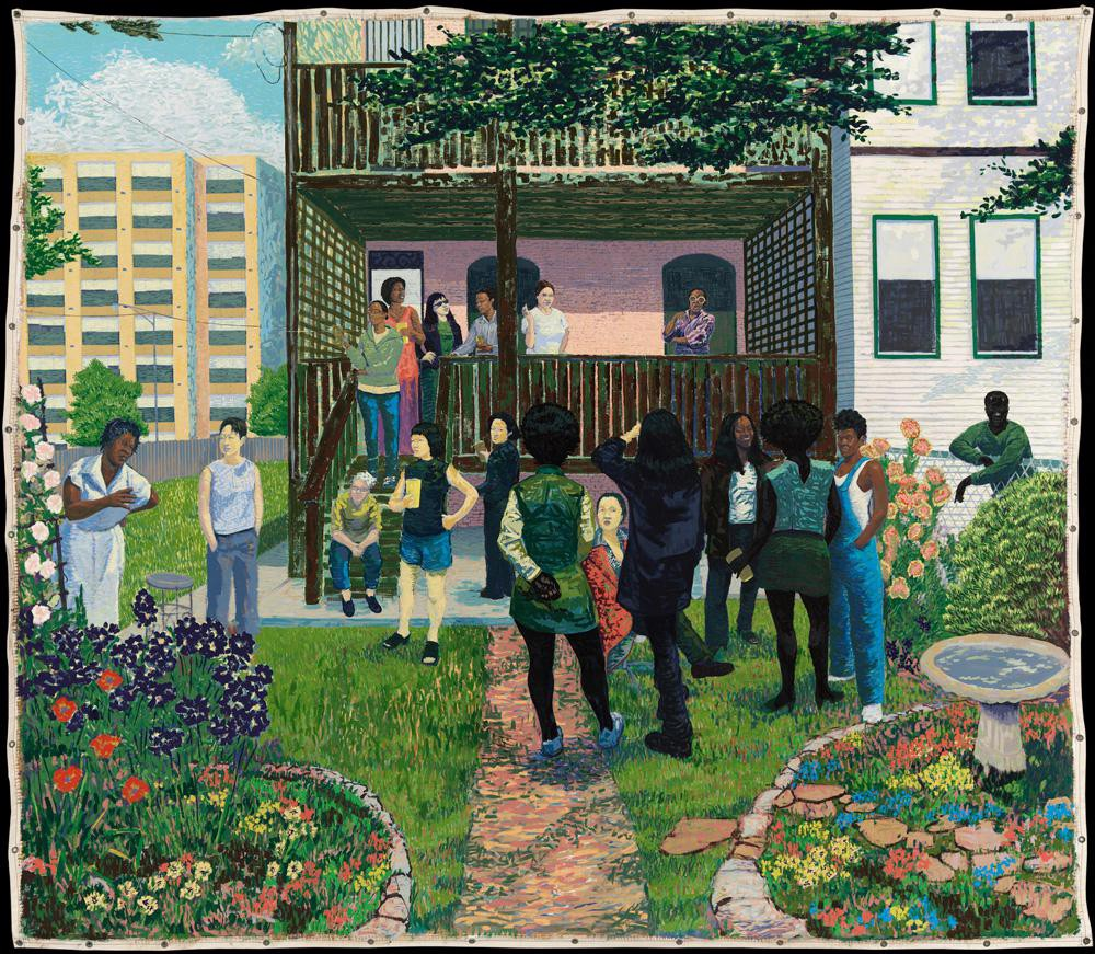 Kerry James Marshall   The Garden Party   (2003)