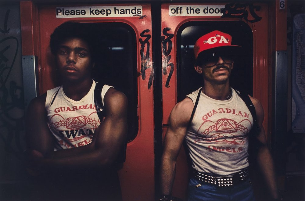 "Imaged captured by the legendary Bruce Davidson and is a part of his iconic ""Subway"" series"