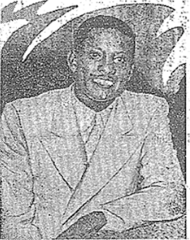 James E. Bonner in 1936. [All newspaper images from 27 Dec, 2013 edition of  Chunichi Sports , page 5]