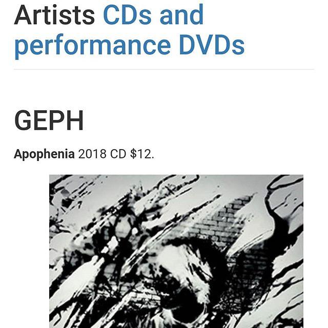 Apophenia is now the featured album on the official Stick Enterprises website! . . . . . . . #geph #apophenia #jazzmetal #taptheory #chapmanstick #album2