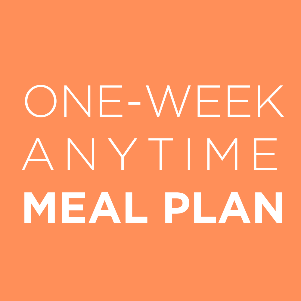 AAYNutrition_One Week Meal Plan