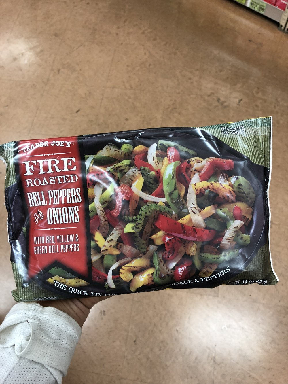 Fire Roasted Bell Peppers & Onions .JPG