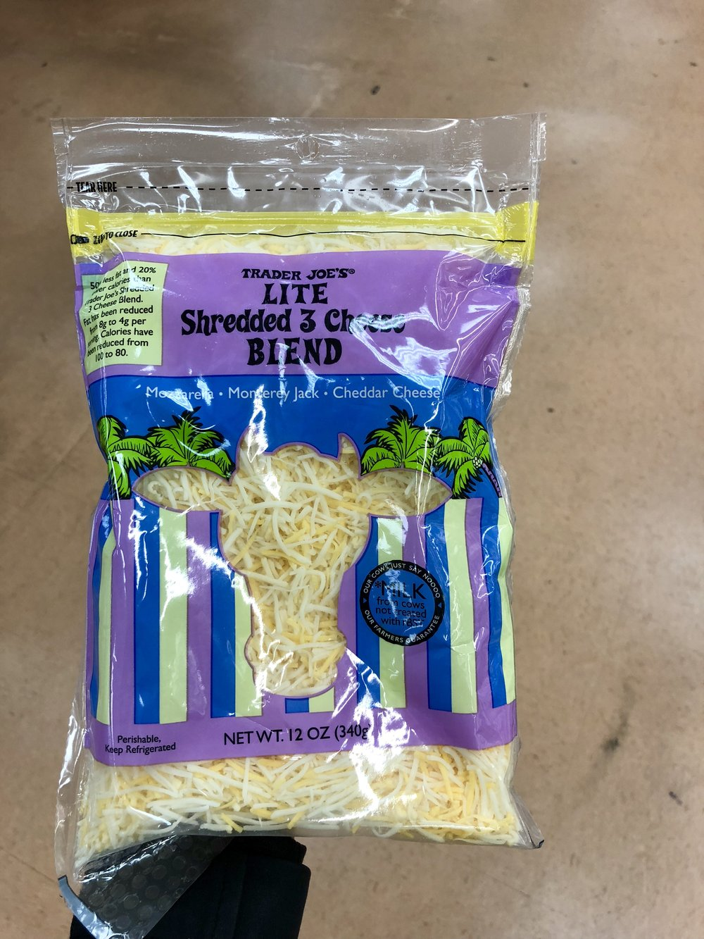 Light Shredded 3 Cheese Blend .JPG