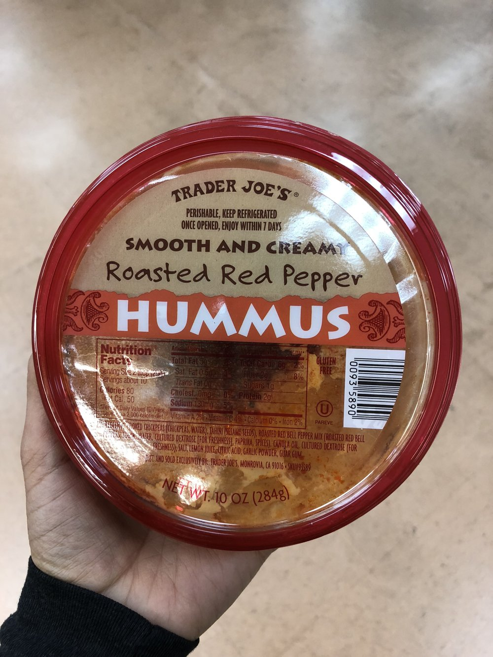 Smooth & Creamy Roasted Red Pepper Hummus.JPG