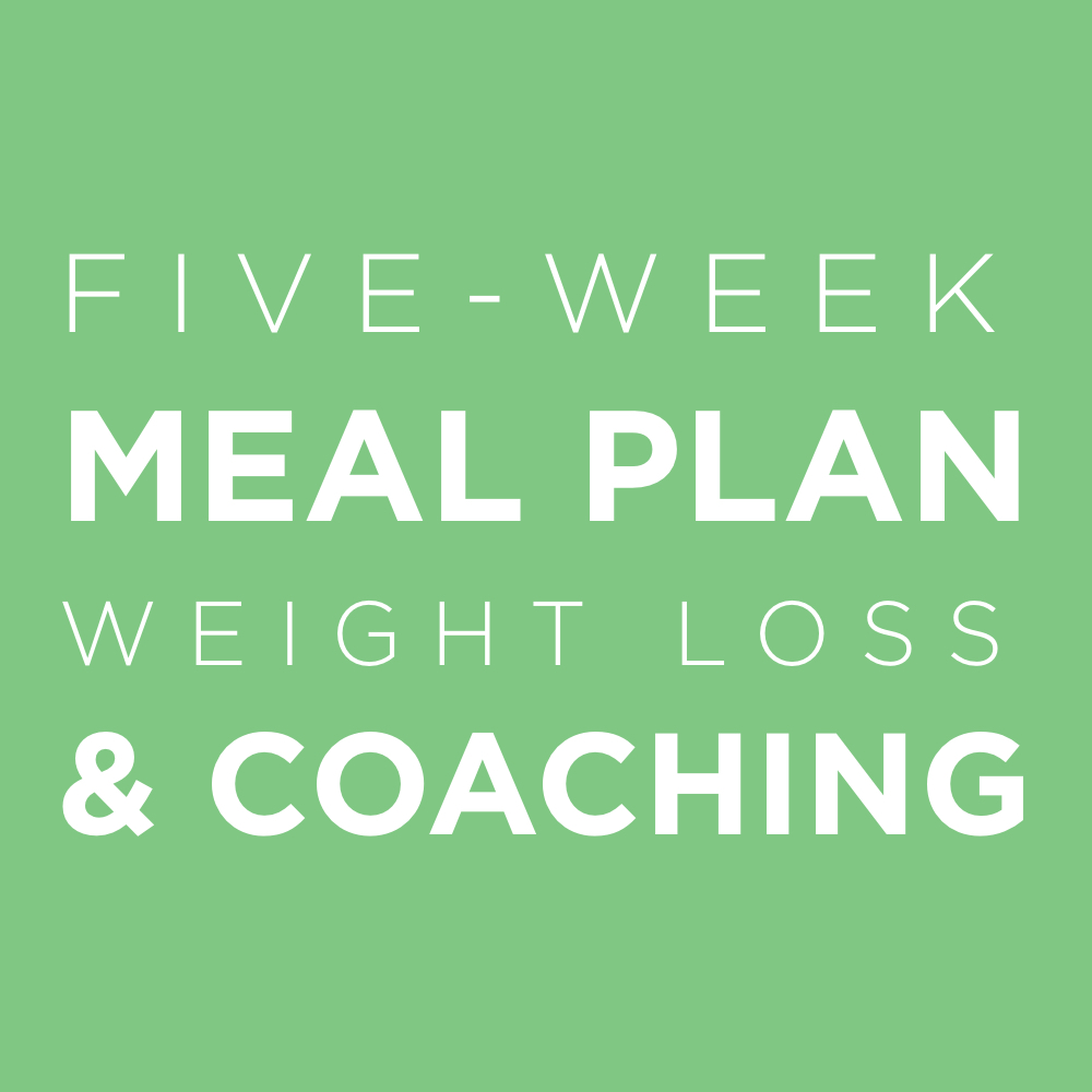 AAY Nutrition Work With Us Five Week Meal Plan and Coaching