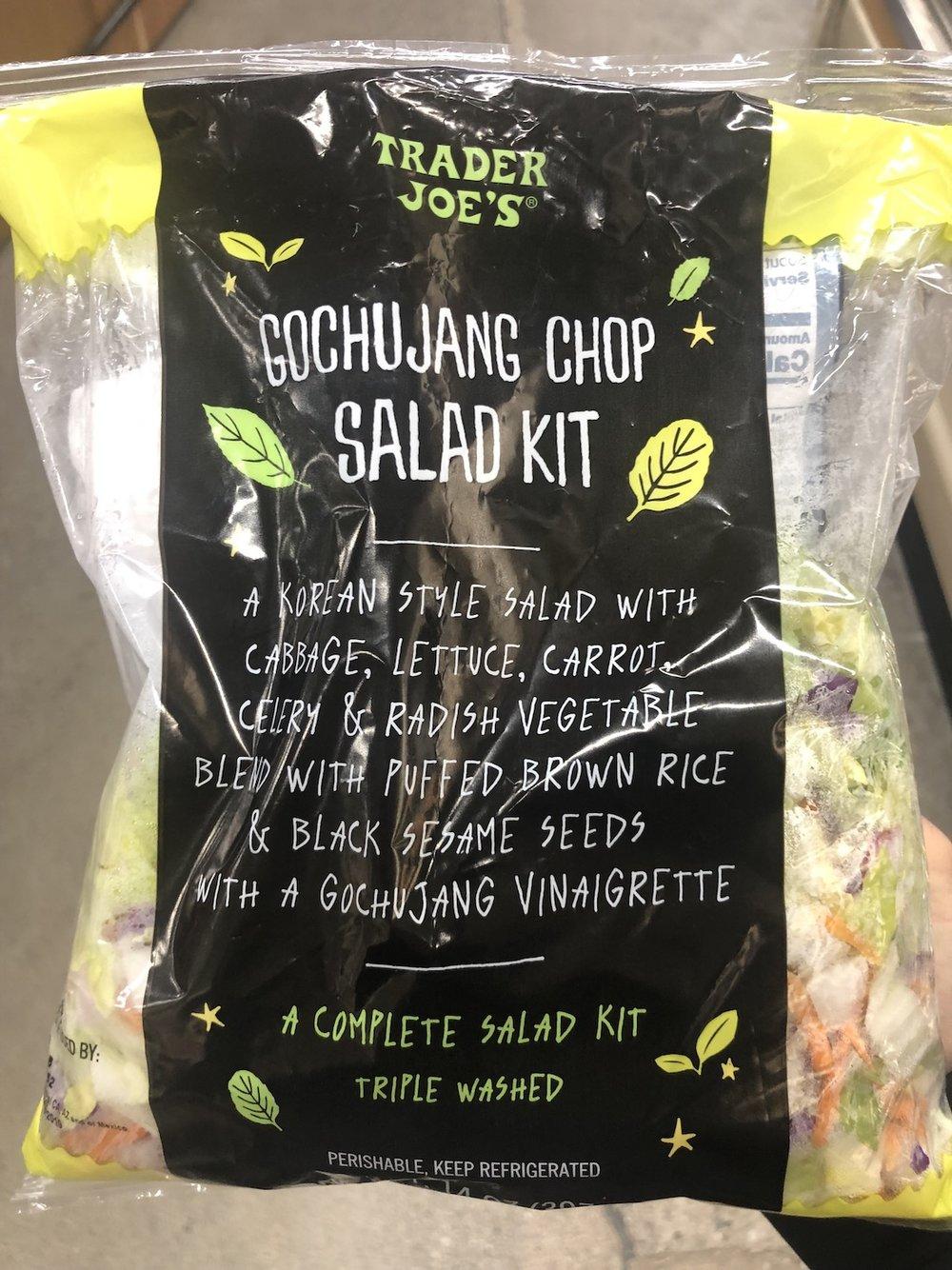 Trader Joe's Gochujang Chop Salad Kit