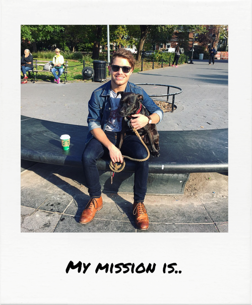 "Oliver Willems     "".. to find my mission!"""