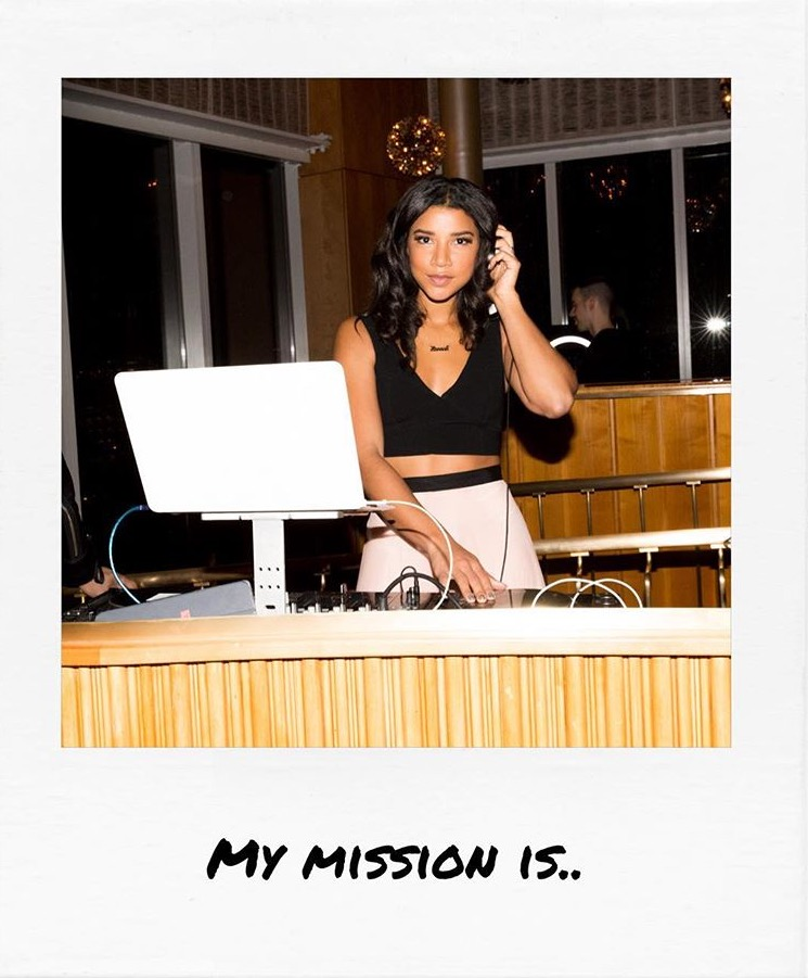 "Hannah Bronfman    ""..to spread confidence and self love."""