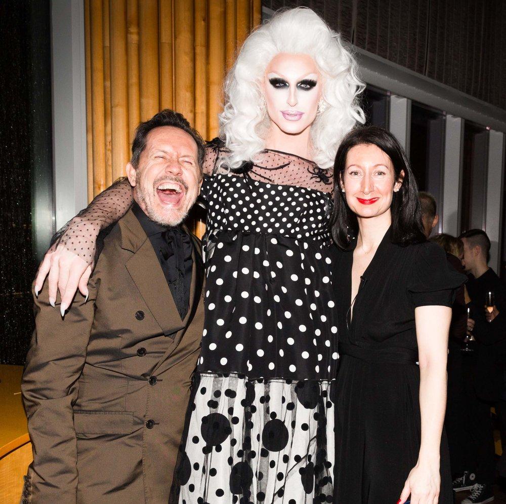 Mark Connolly, Milk the Queen, Karina Givargisoff