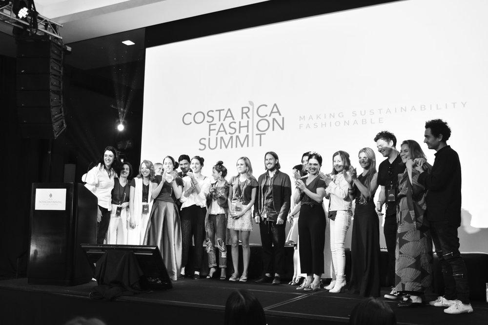 Costa Rica Fashion Summit 2017 photo by Tatiana Marin. Cover photo of founder Andrea Somma-Trejos by Luigi Lam.