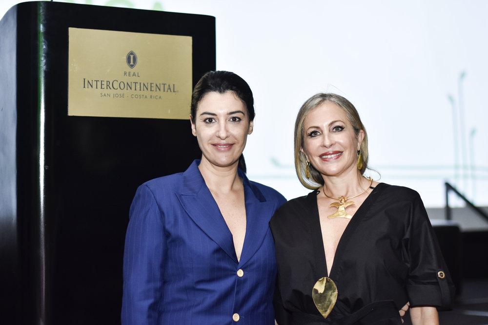 Andrea Somma-Trejos and Carmen Busquets by Tatiana Marin.