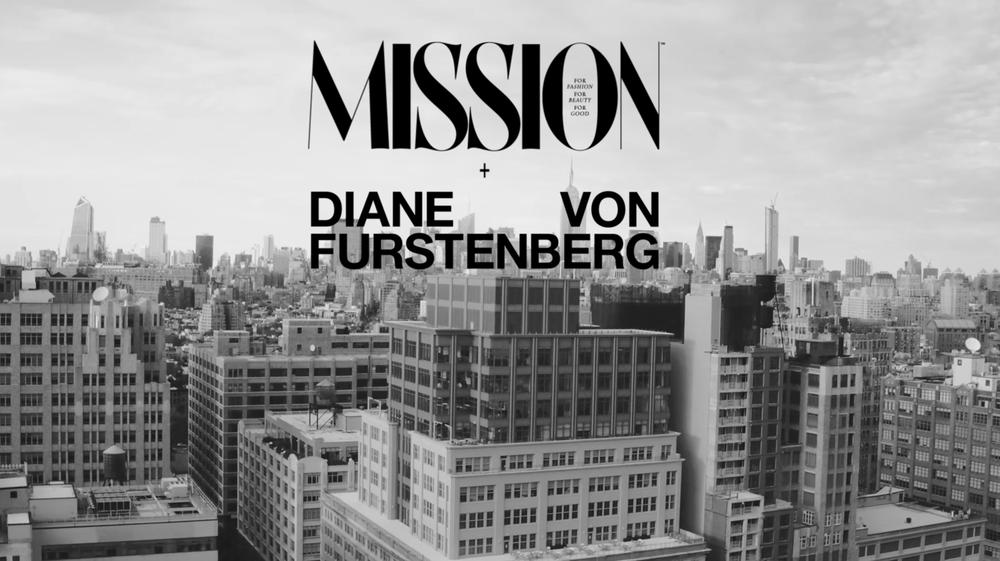 ISSUE #1 MISSION SPEAKS WITH DVF     WONDER WOMEN  A video of Diane von…