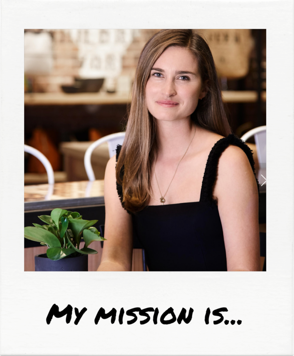 """...to feed the world."" - Lauren Bush Lauren"