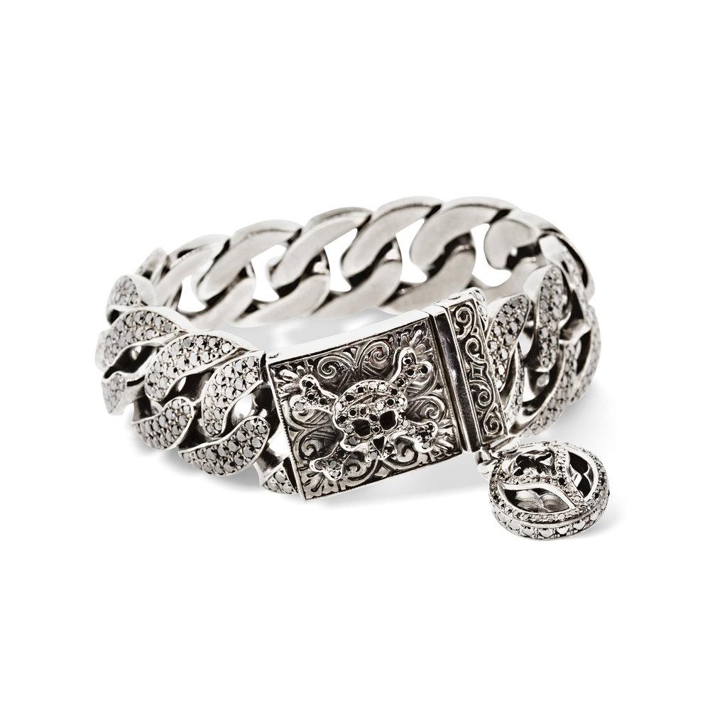 Skull ID bracelet
