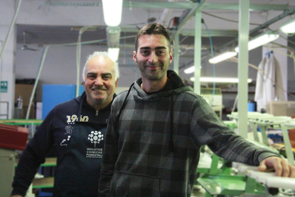 Mario and Giacamo, italian shoemakers