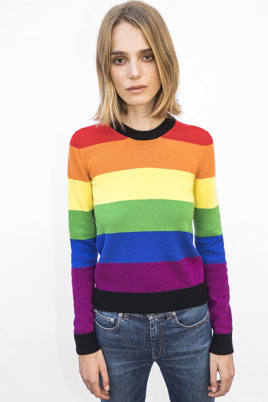 Langley Fox for Generous Sweaters/ Sonia Rykiel.