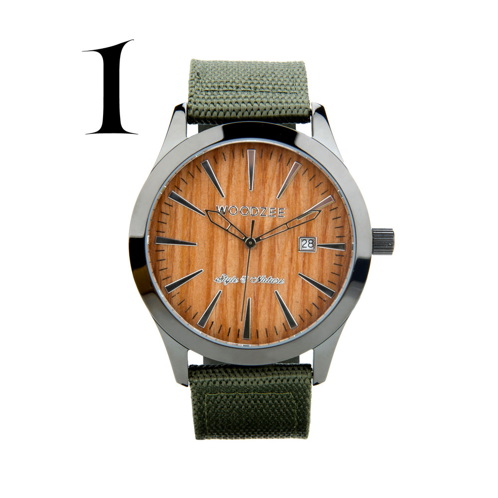 WoodZee - Socially responsible, Woodzee partners with local charities and uses ethically sourced material.Mens' Wanderlust Teak Wood Watch $80.00