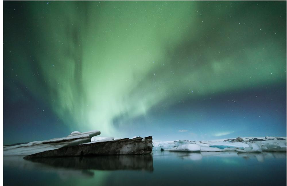 Auroral Vortex, Iceland. From a series called Islandia.