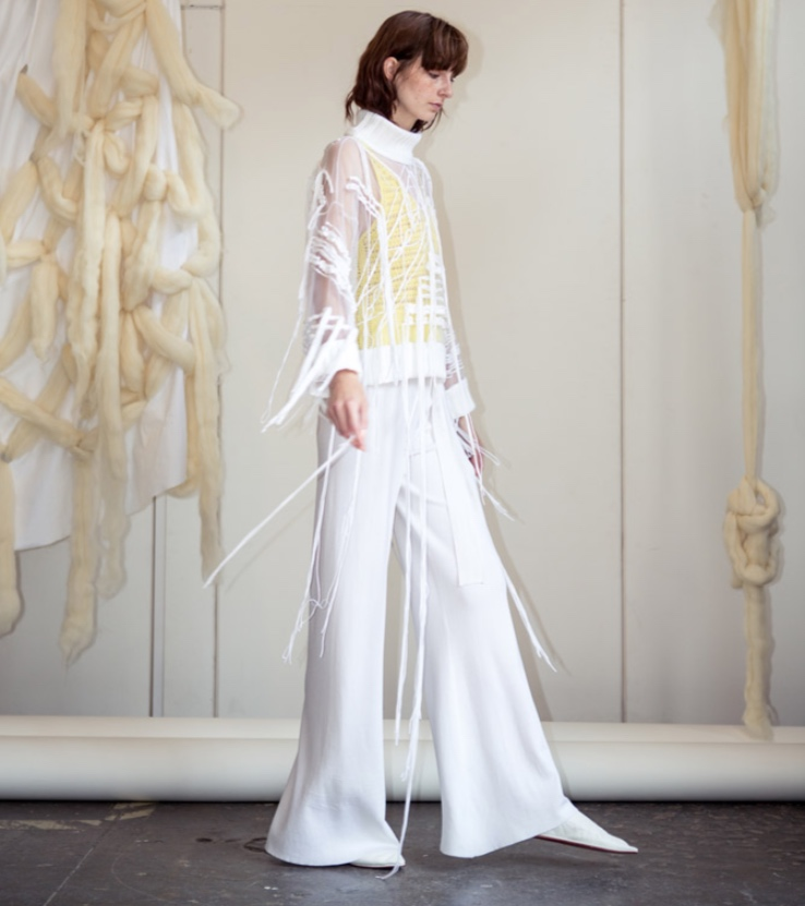 KNIT ONE PURL ONE    STYLE  Hannah Jenkins founder of HJK, a sustainable knitwear brand from London to LA.