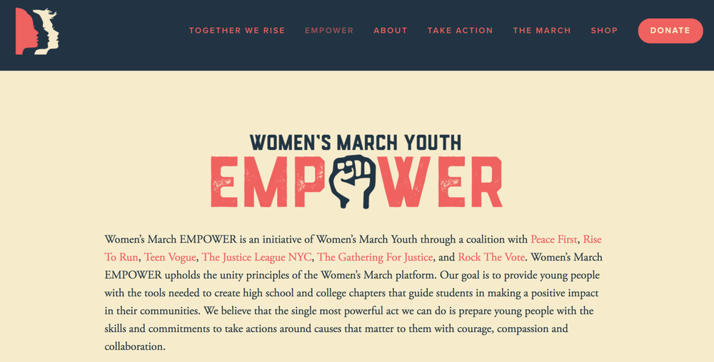 Hannah is a Strategic Advisor to this youth initiative. Learn more  HERE .