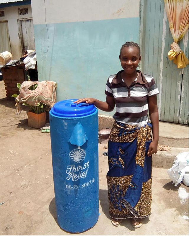 Neema, a local entrepreneur in the Morogoro Region of Tanzania, had her life changed last month when you helped fund a Biosand filter for her. Less time being sick from water means more time for her to grow her business!