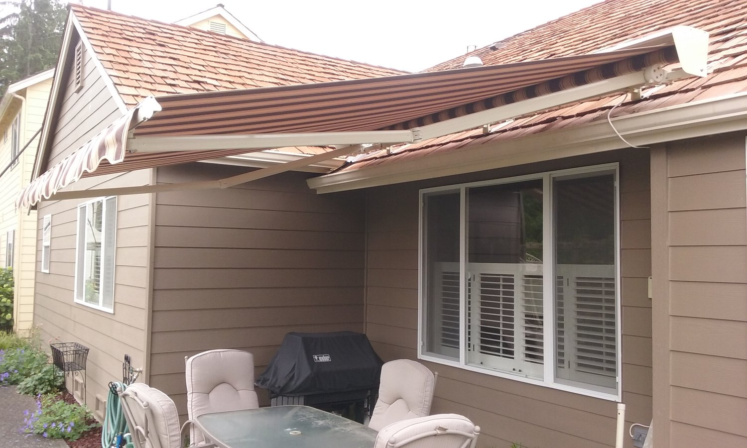 roofs awning flat roots roof master awnings aluminum