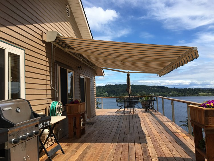 for manual diy striking pictures retractable awnings sunsetter motorized decks awning prices patio window