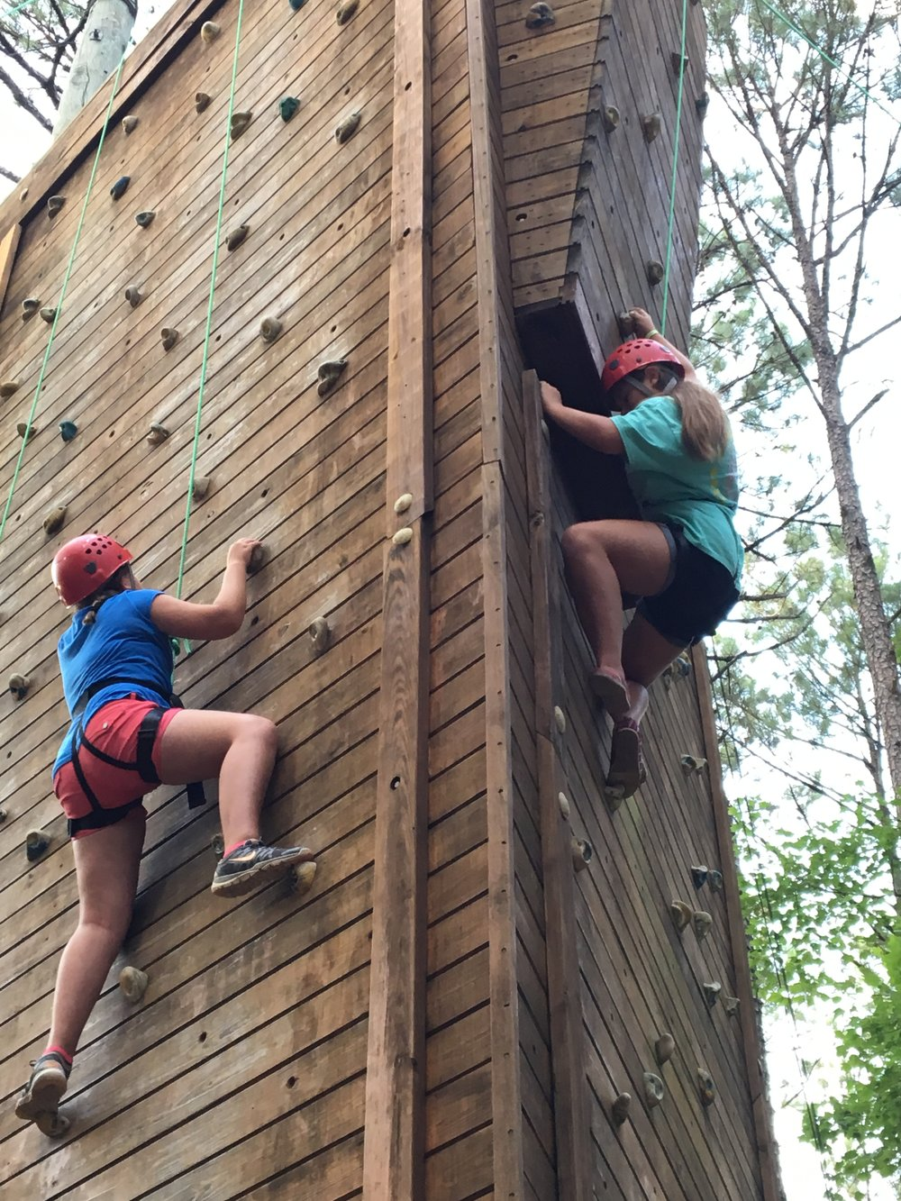32 ft Rock Wall
