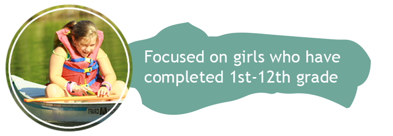 Focused on girls who have completed 1st-12th grade
