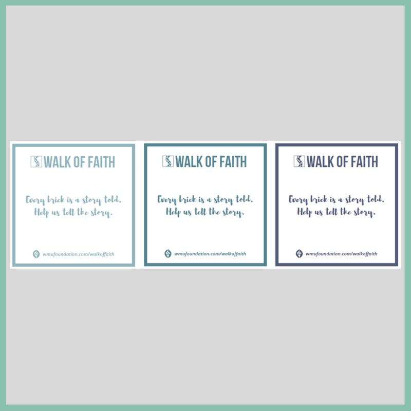 Walk of Faith Information Cards