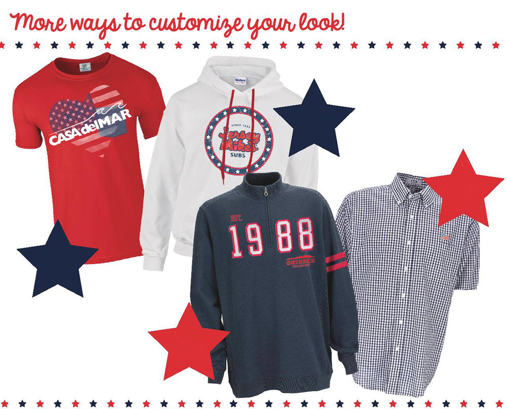 Americana 4th of July Apparel