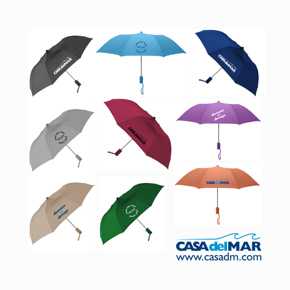 Umbrellas, Promotional Products, Rain, Screen Printing, Colors, San Diego