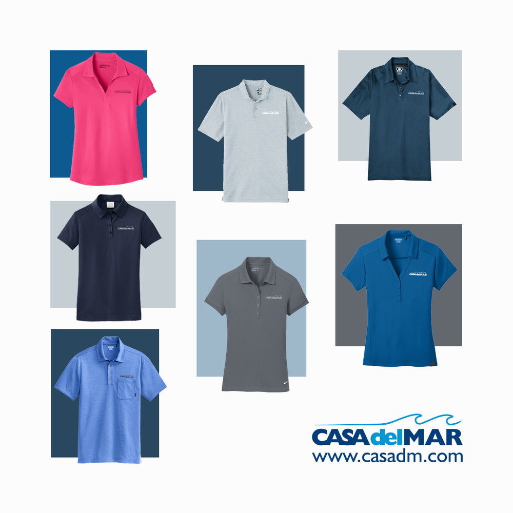Polo Shirts, Performance Polo, Embroidery, San Diego, California, Custom Apparel, Branding, Uniforms