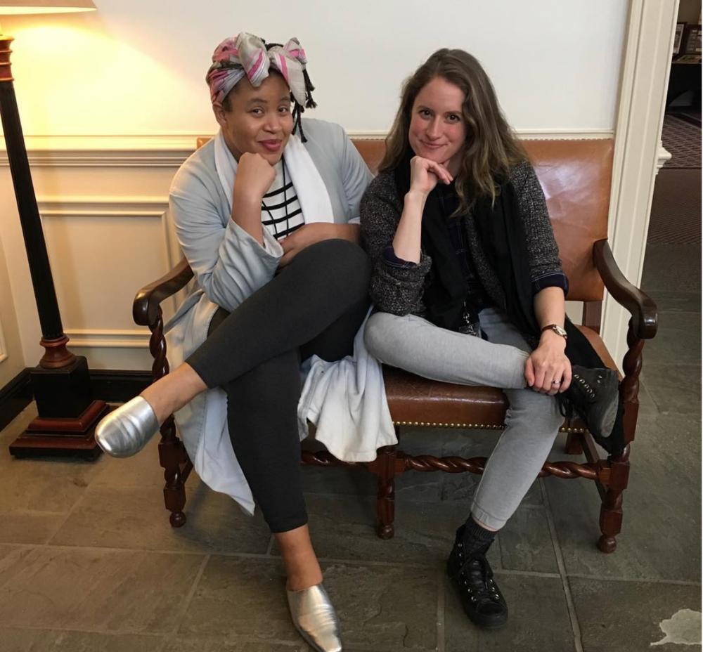 Joy & Dana at CSA
